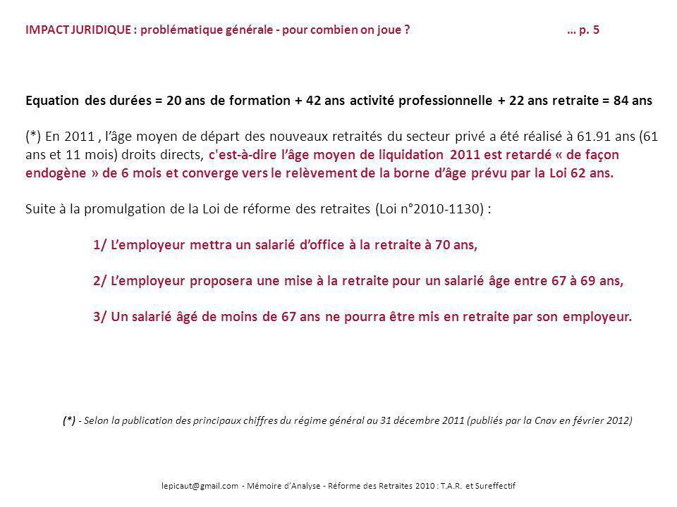 Soutenance de memoire d analyse le 22 mai 2012 version - Mise en retraite d office fonction publique ...