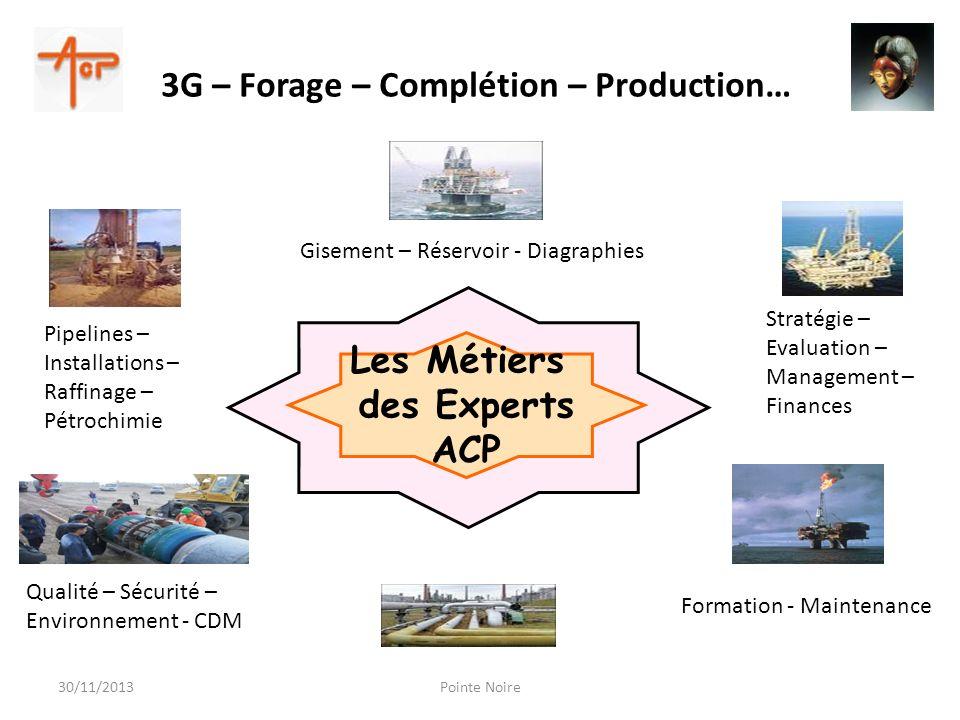 Les Métiers des Experts ACP