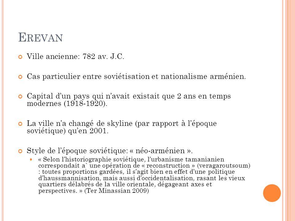 Erevan Ville ancienne: 782 av. J.C.