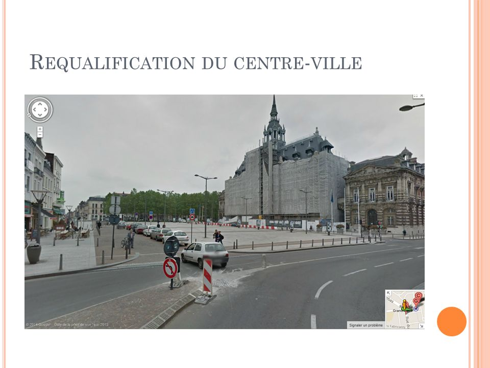 Requalification du centre-ville