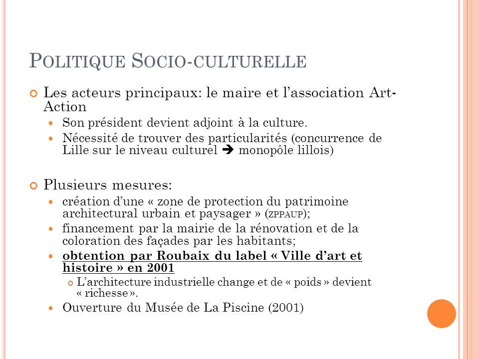 Politique Socio-culturelle