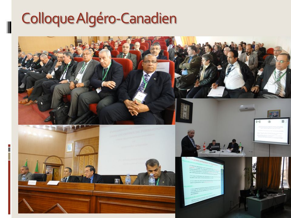 Colloque Algéro-Canadien