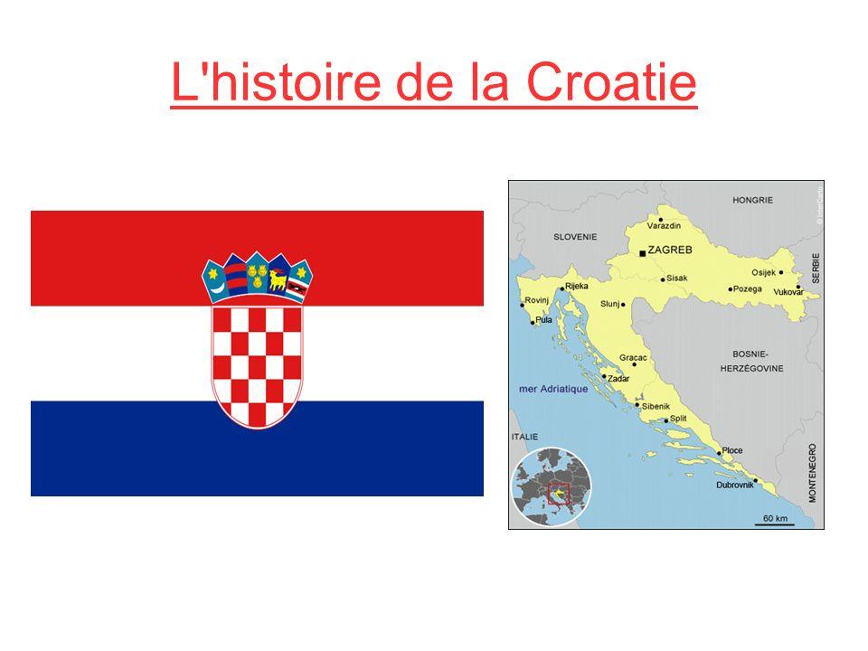 L histoire de la Croatie