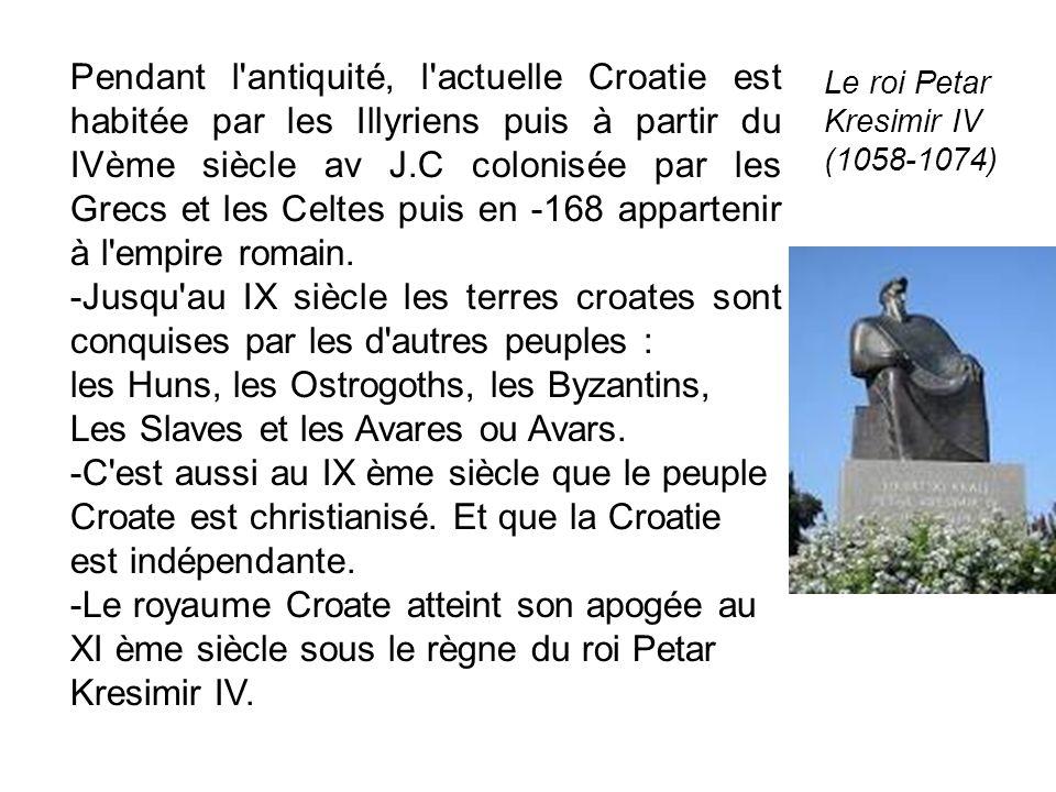 les Huns, les Ostrogoths, les Byzantins,