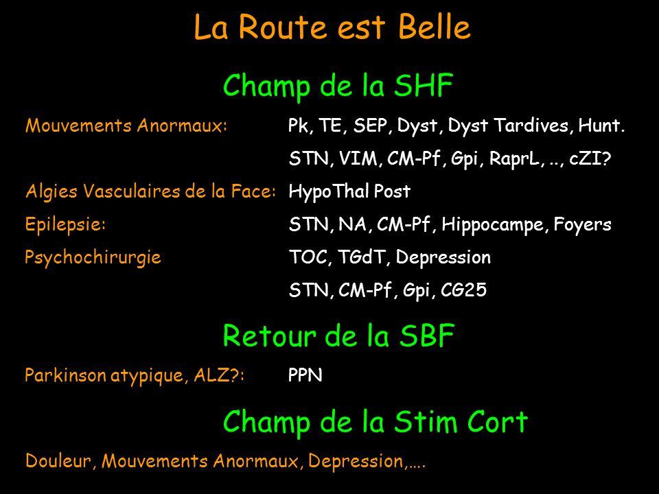 La Route est Belle Champ de la SHF