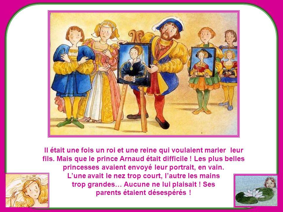 Il était une fois un roi et une reine qui voulaient marier leur
