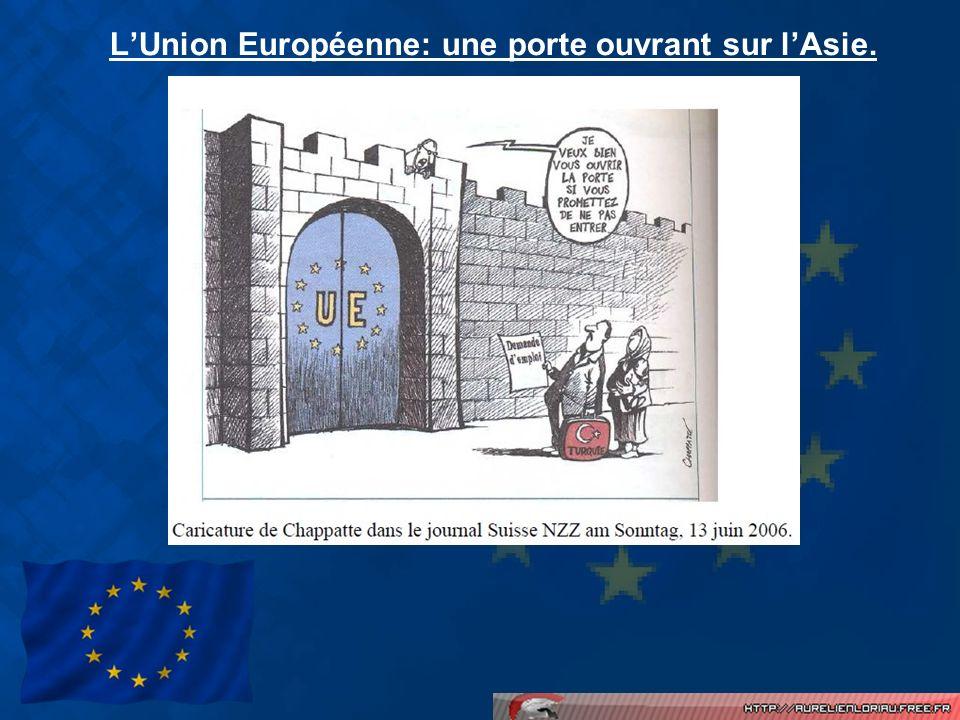 L'Union Européenne: une porte ouvrant sur l'Asie.