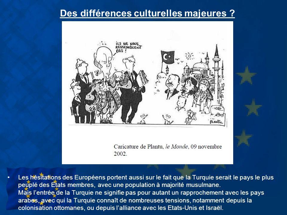 Des différences culturelles majeures