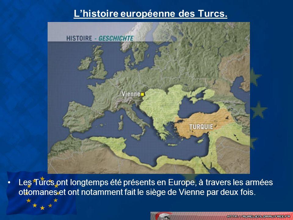 L'histoire européenne des Turcs.