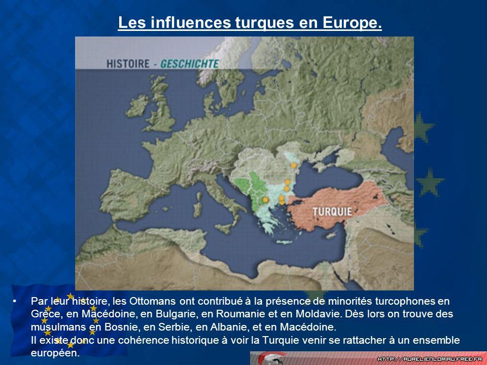 Les influences turques en Europe.