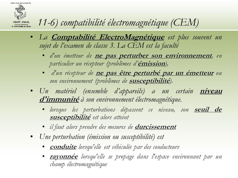 11-6) compatibilité électromagnétique (CEM)
