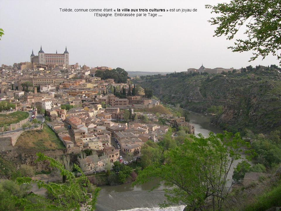 Tolède, connue comme étant « la ville aux trois cultures » est un joyau de l'Espagne.