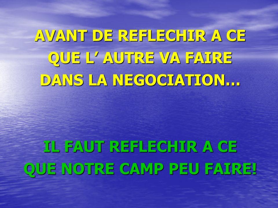QUE NOTRE CAMP PEU FAIRE!