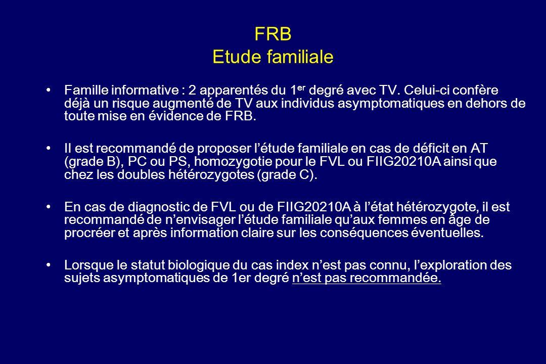 FRB Etude familiale