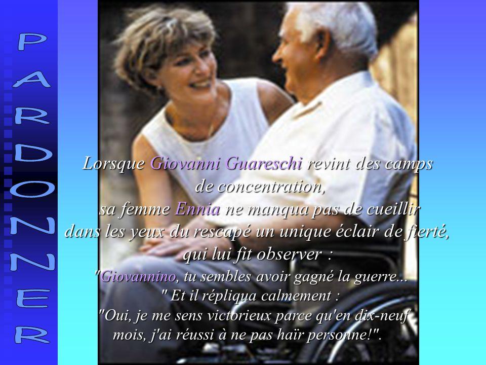 Lorsque Giovanni Guareschi revint des camps de concentration,