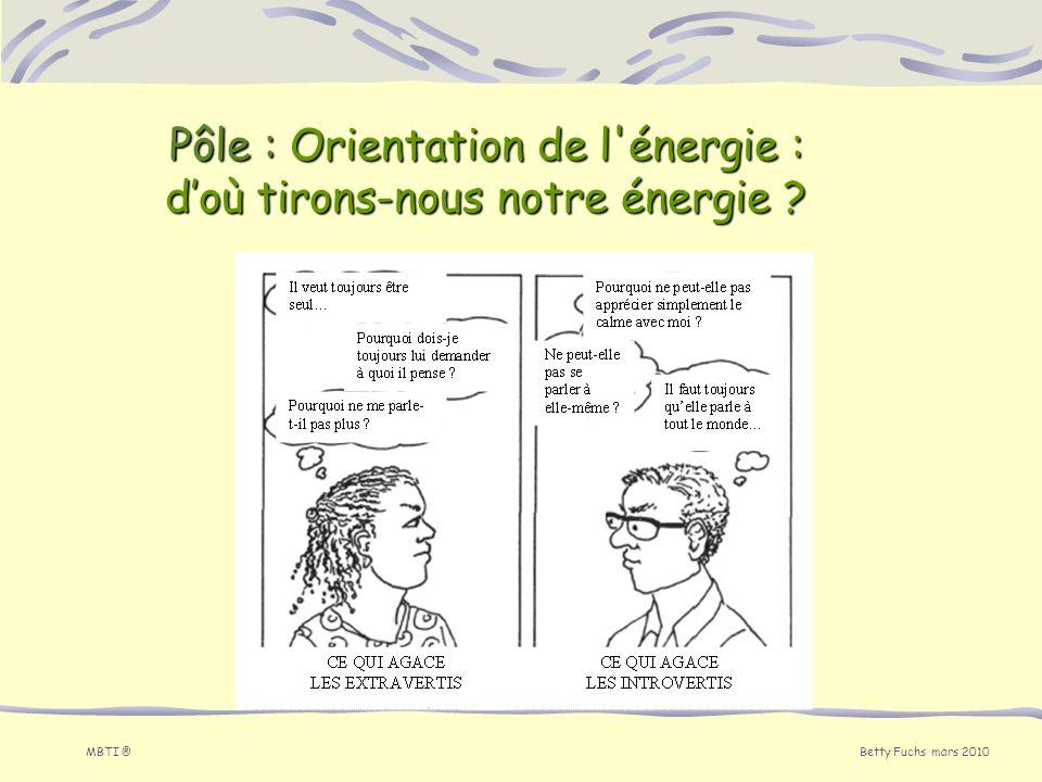 Pôle : Orientation de l énergie : d'où tirons-nous notre énergie