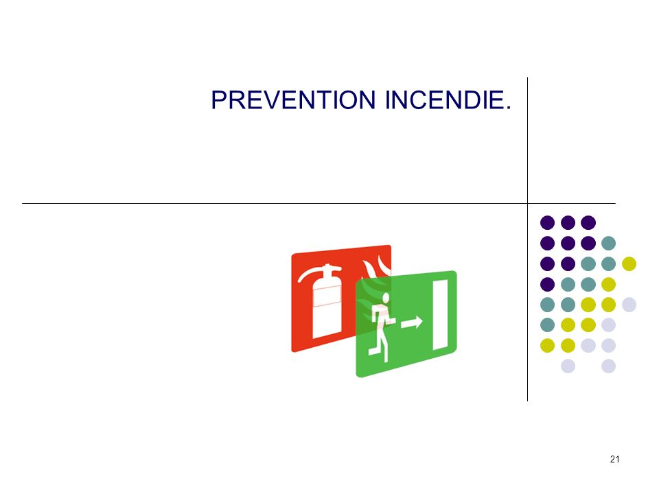PREVENTION INCENDIE.