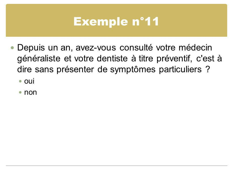 Exemple n°11