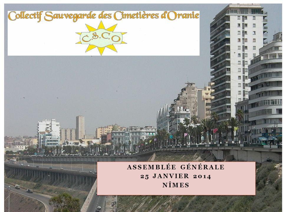 Assemblée Générale 25 Janvier 2014 Nîmes