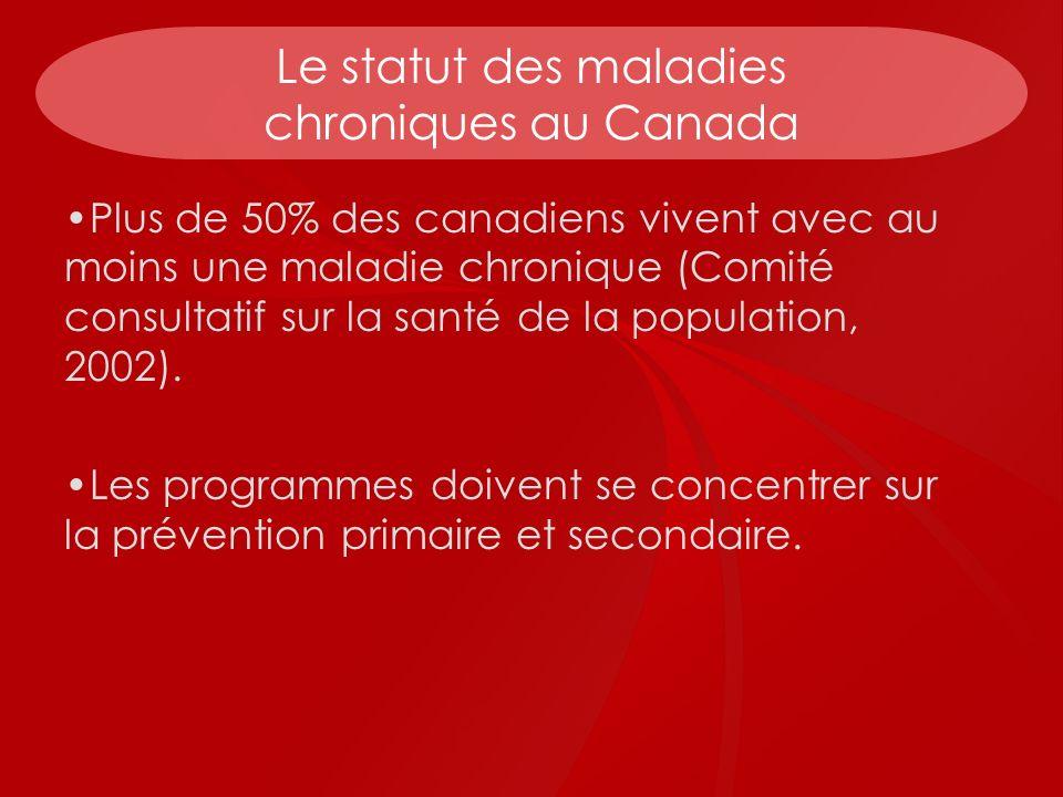 Le statut des maladies chroniques au Canada