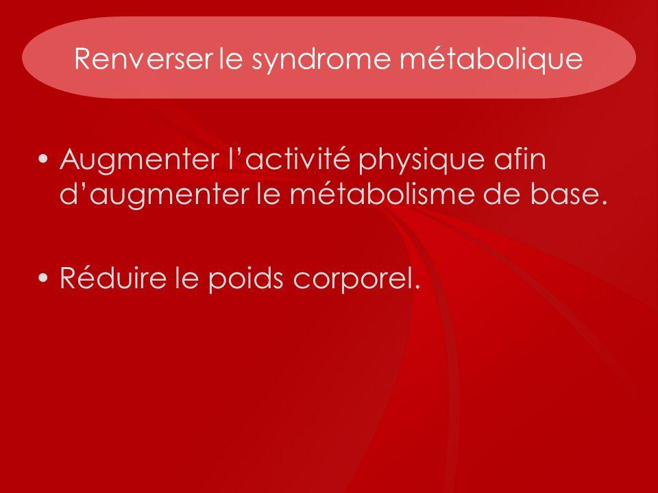 Renverser le syndrome métabolique