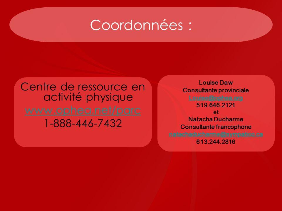 Consultante provinciale Consultante francophone