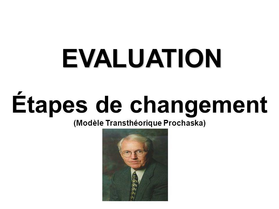 (Modèle Transthéorique Prochaska)