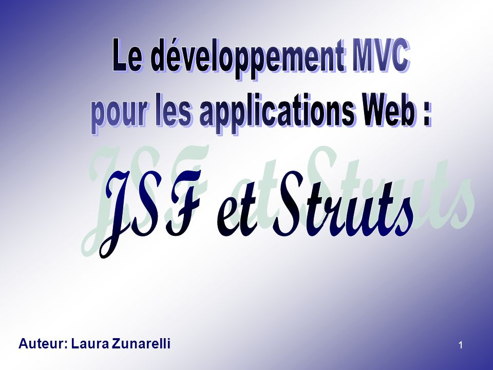 pour les applications Web :
