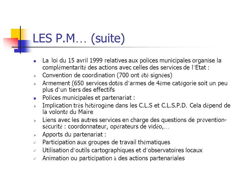 LES P.M… (suite)