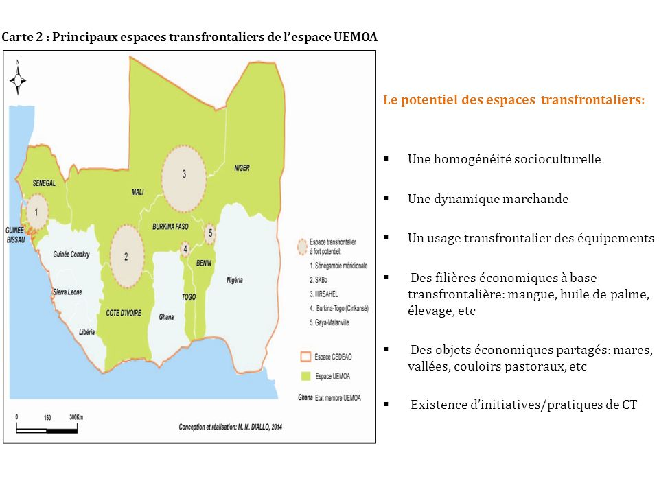Le potentiel des espaces transfrontaliers: