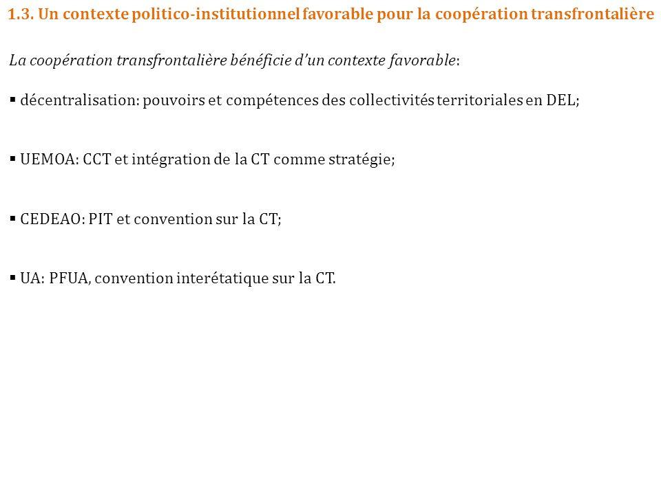 1.3. Un contexte politico-institutionnel favorable pour la coopération transfrontalière
