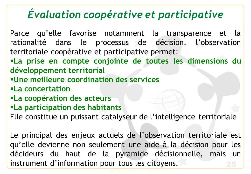 Évaluation coopérative et participative