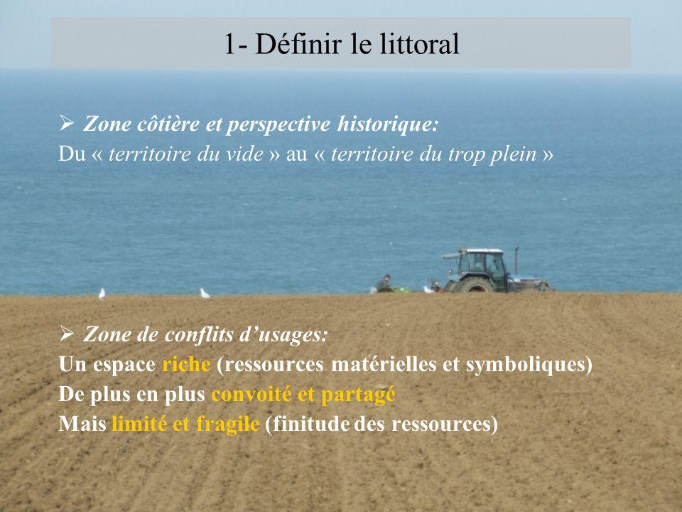 1- Définir le littoral Zone côtière et perspective historique: