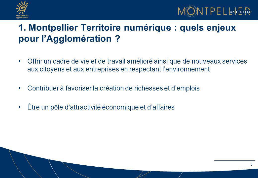 1. Montpellier Territoire numérique : quels enjeux pour l'Agglomération