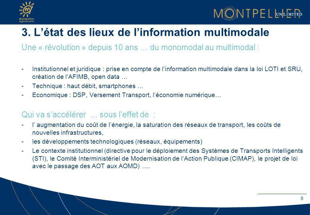 3. L'état des lieux de l'information multimodale