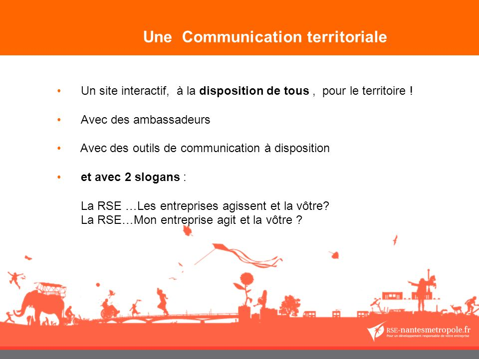 Une Communication territoriale