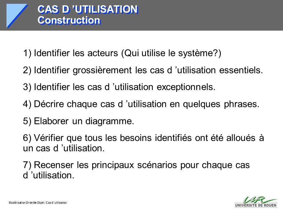 CAS D 'UTILISATION Construction