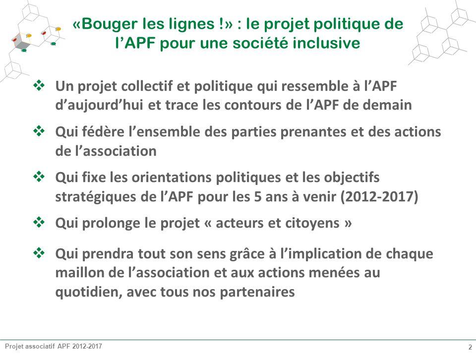 Qui prolonge le projet « acteurs et citoyens »