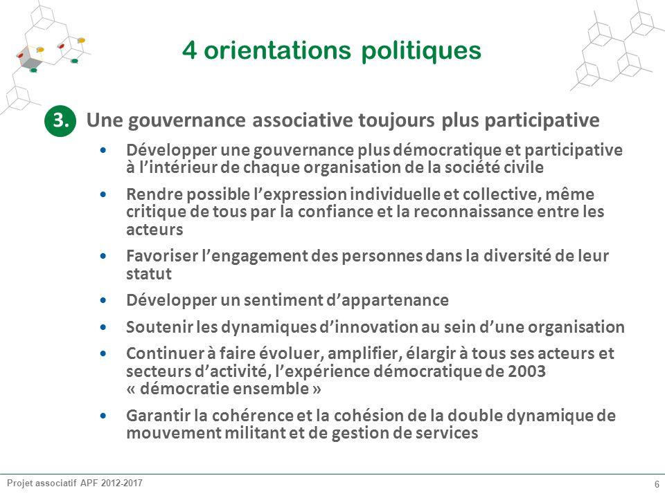 4 orientations politiques