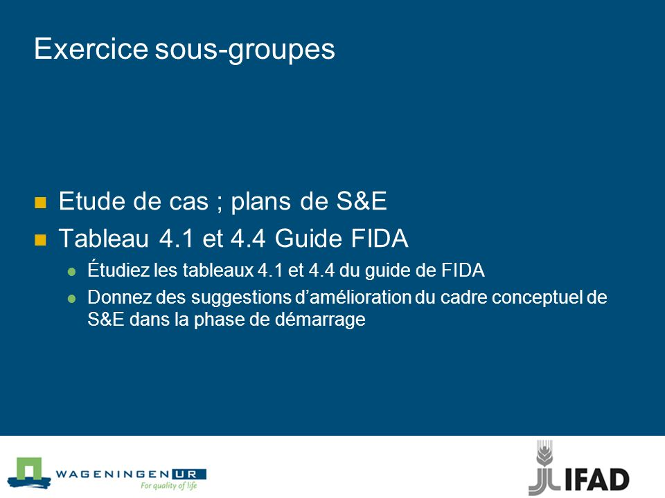 Exercice sous-groupes