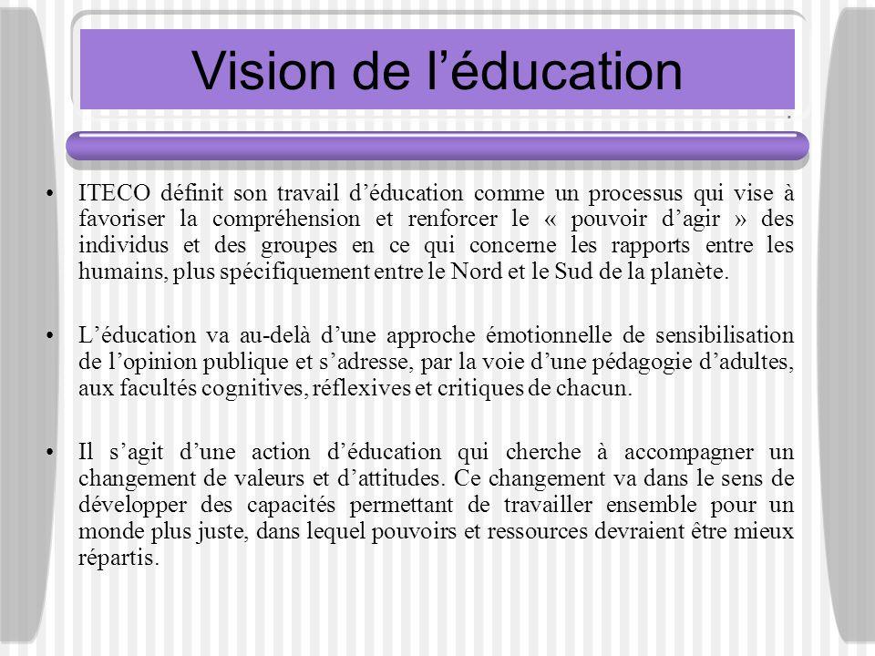 Vision de l'éducation