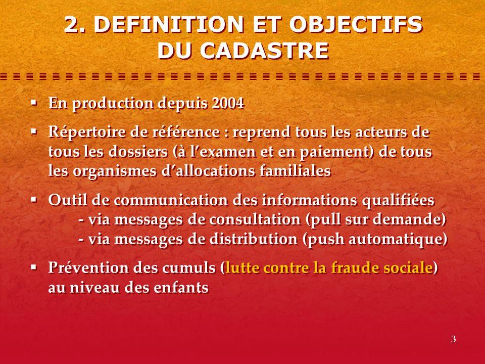 2. DEFINITION ET OBJECTIFS