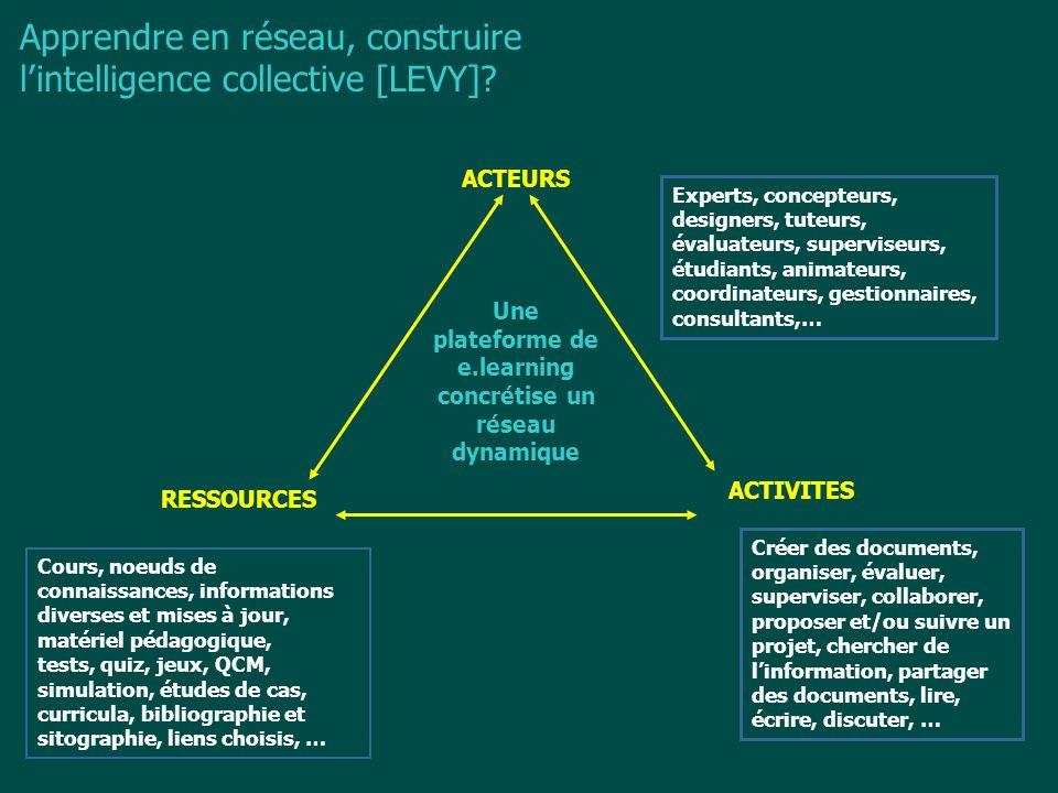 Une plateforme de e.learning concrétise un réseau dynamique