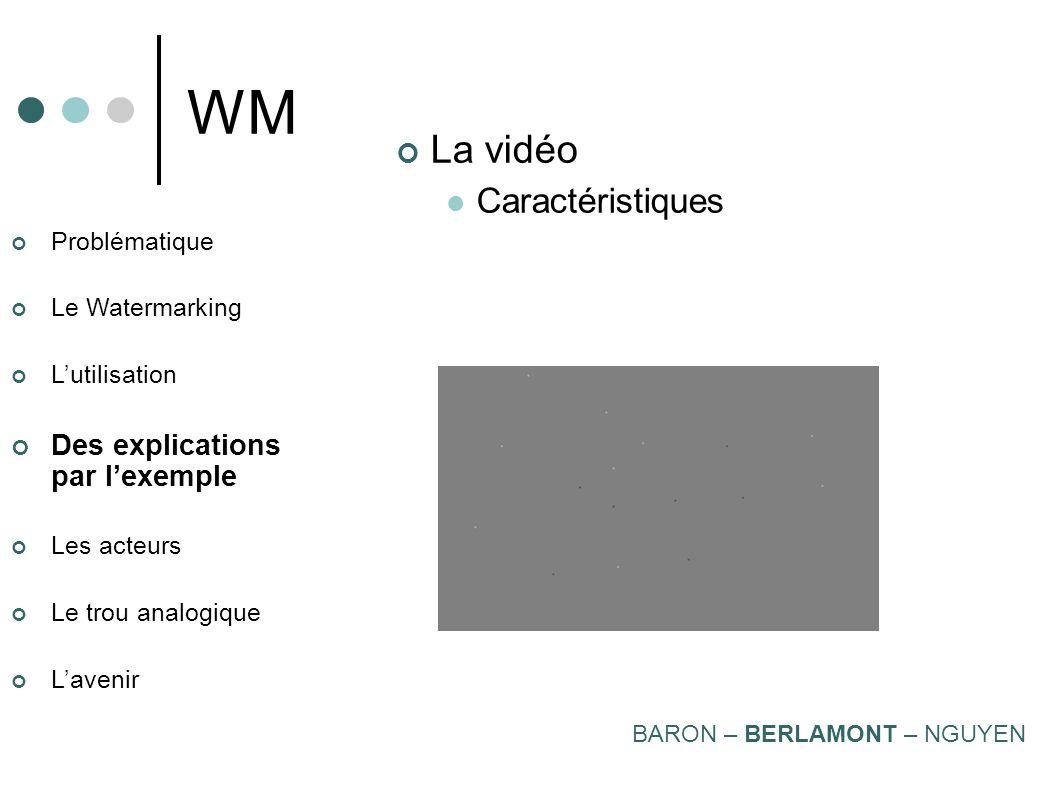 WM La vidéo Caractéristiques Des explications par l'exemple