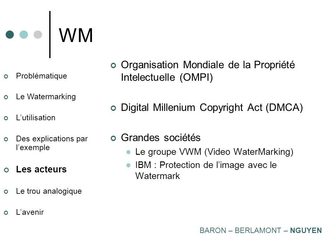WM Organisation Mondiale de la Propriété Intelectuelle (OMPI)