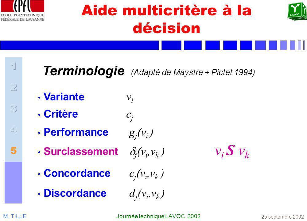 Aide multicritère à la décision