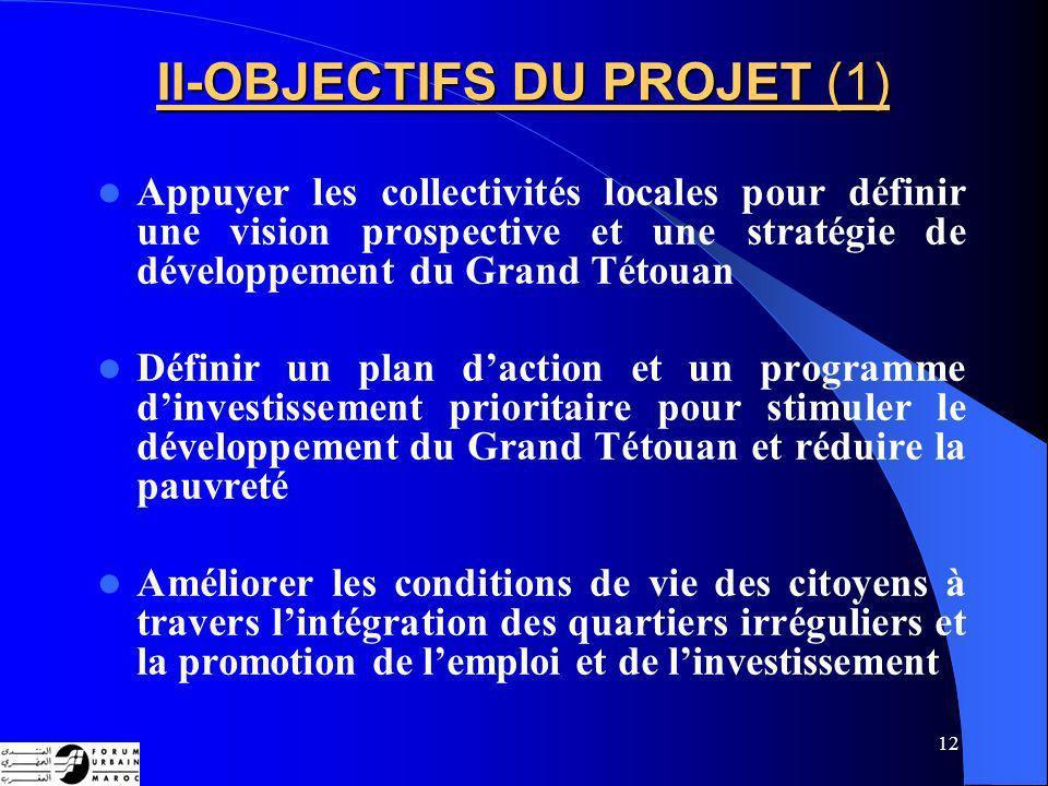 II-OBJECTIFS DU PROJET (1)