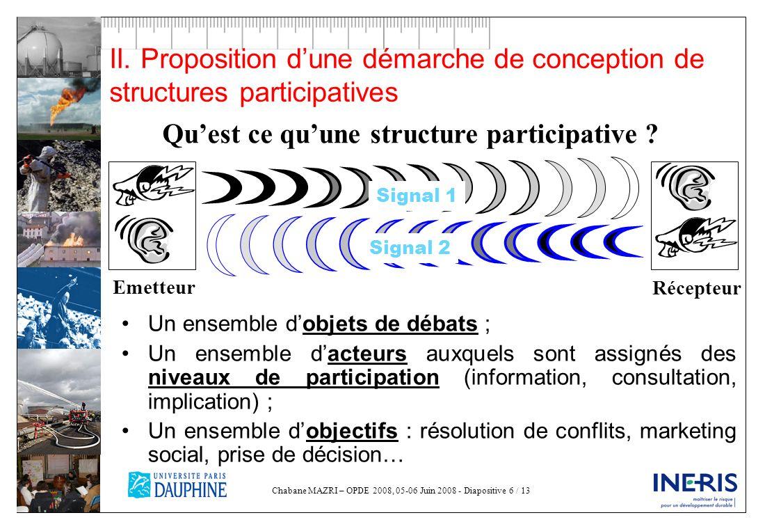 Qu'est ce qu'une structure participative