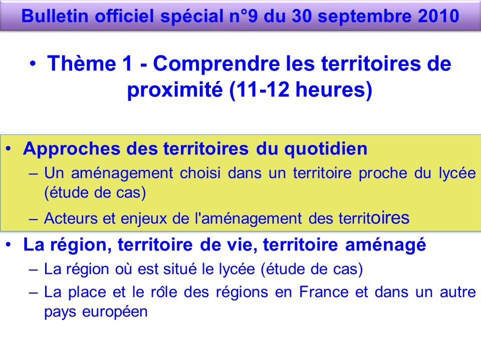 Bulletin officiel spécial n°9 du 30 septembre 2010