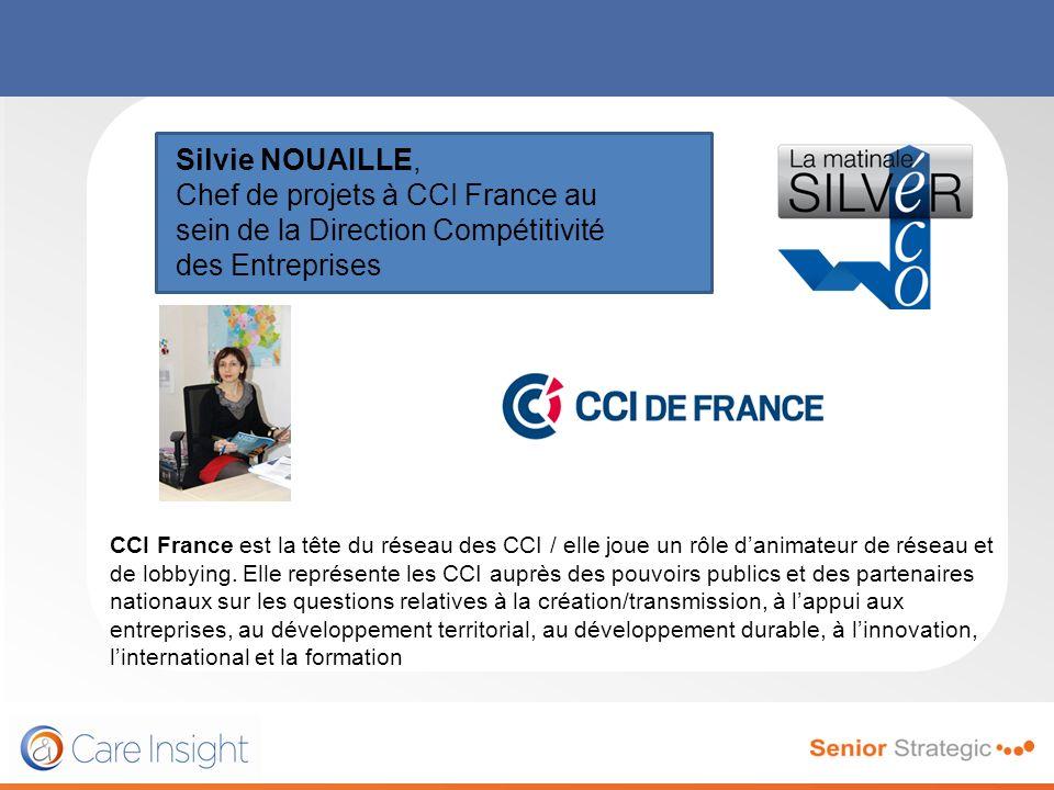 Silvie NOUAILLE, Chef de projets à CCI France au sein de la Direction Compétitivité des Entreprises.